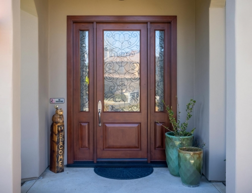 Jeld-Wen Entry Door, Granite Bay