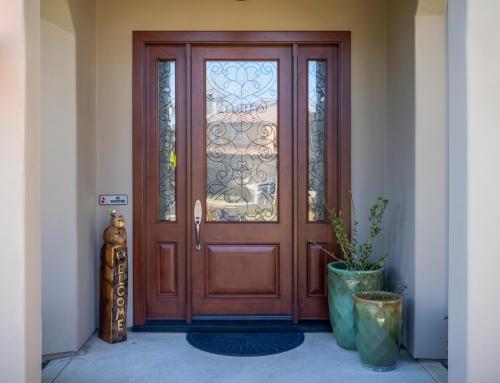 Jeld-Wen Entry Door, Granite Bay